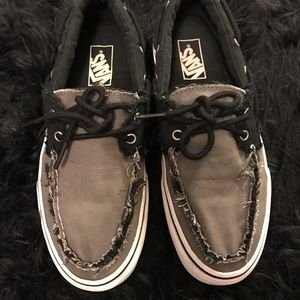 Men's Boat Shoes Vans Size 8.5